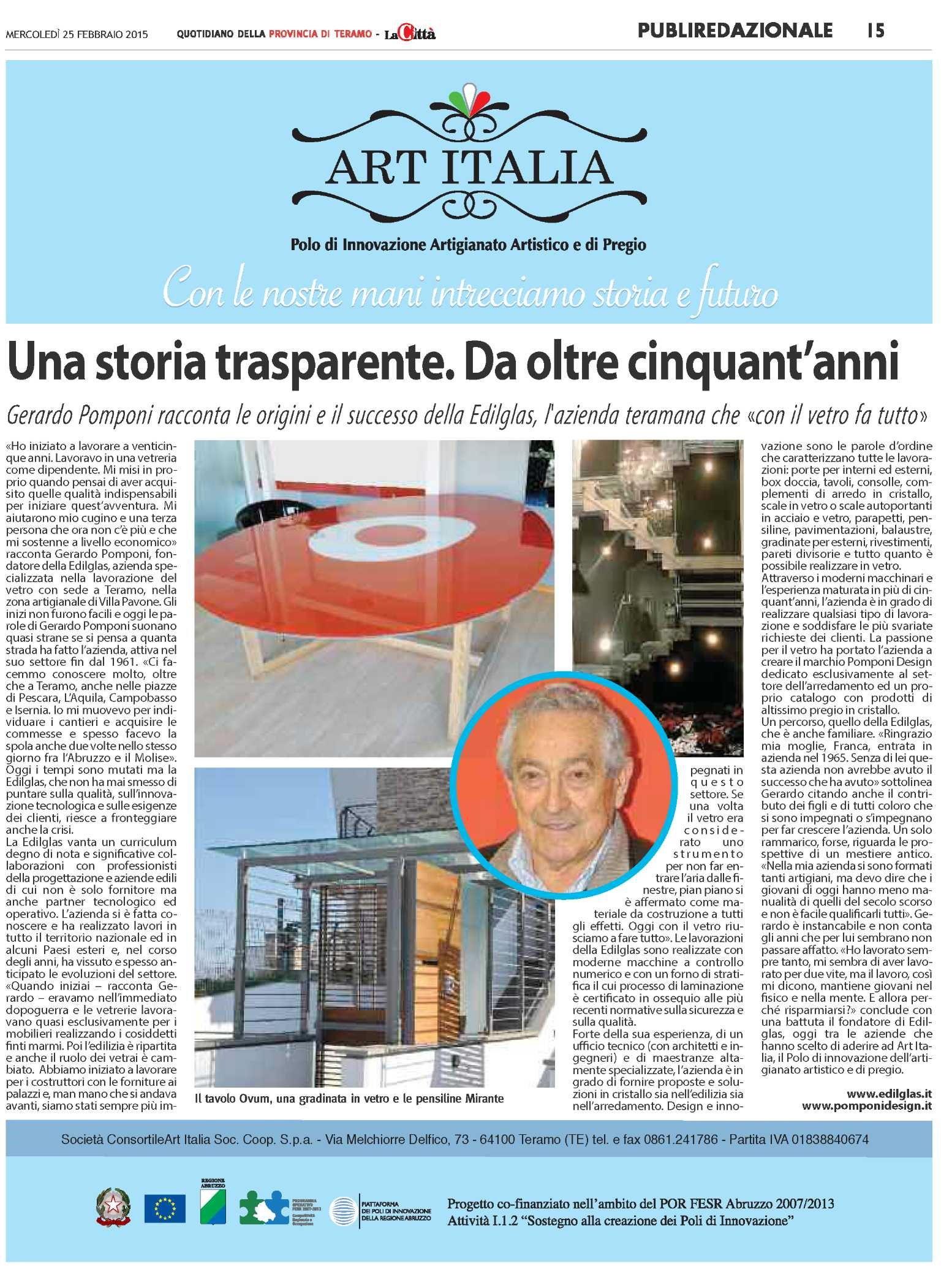 art_italia_Una storia trasparente